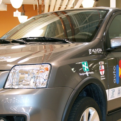 Fuel Cell Vehicle on Display at Battery Show: Fiat's Panda Prototype, in Joint Cooperation with Quallion, Features a Fuel Cell Stack by Nuvera