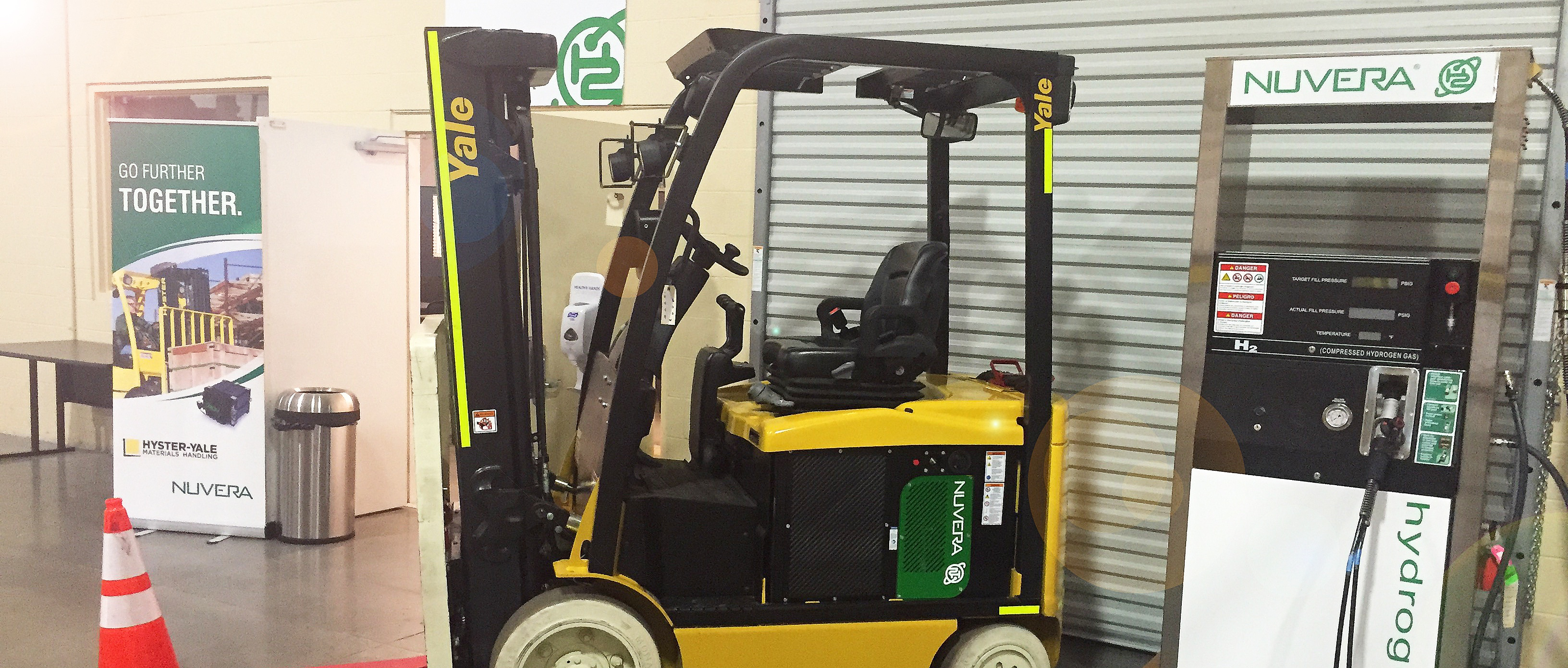 LiftOne Showcases Nuvera® All-In Fuel Cell Solutions at Hyster-Yale Experience Center