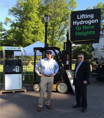 Nuvera and Eastern Lift Truck Company Exhibit Clean Technology at NYC Fleet Event