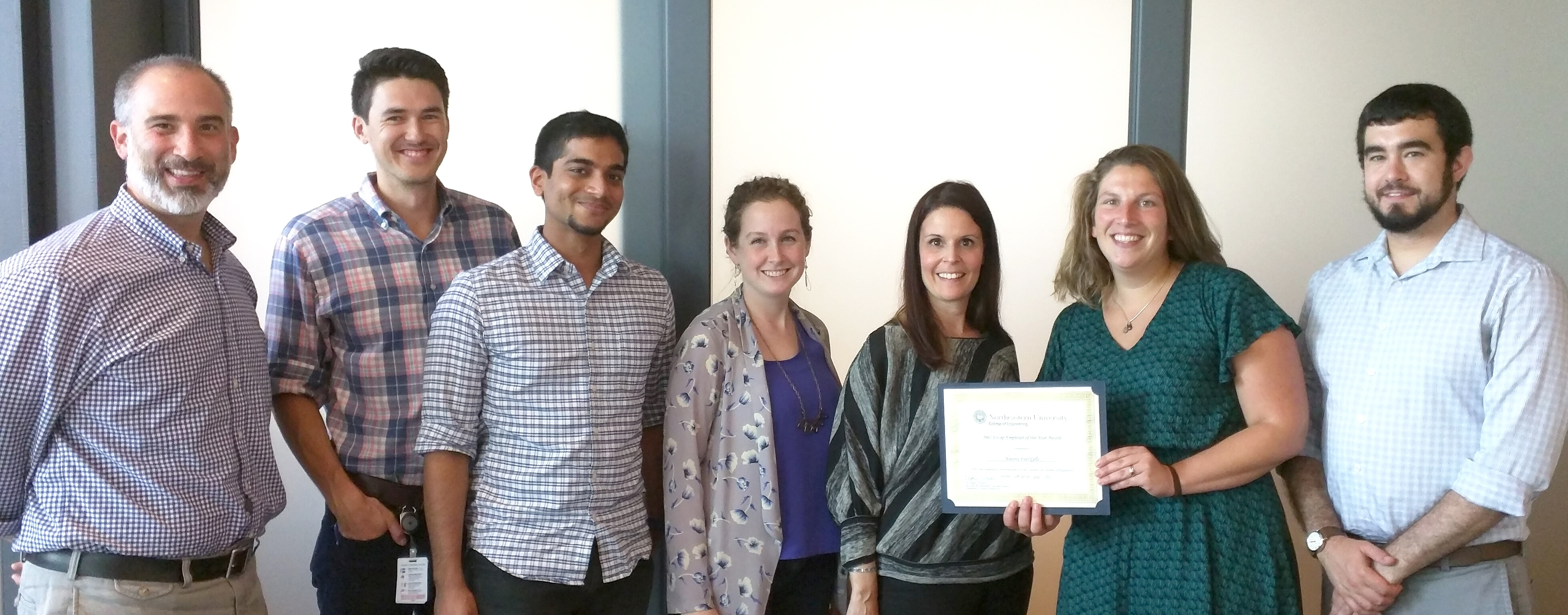 Nuvera Receives Co-op Employer of the Year Award from Northeastern University