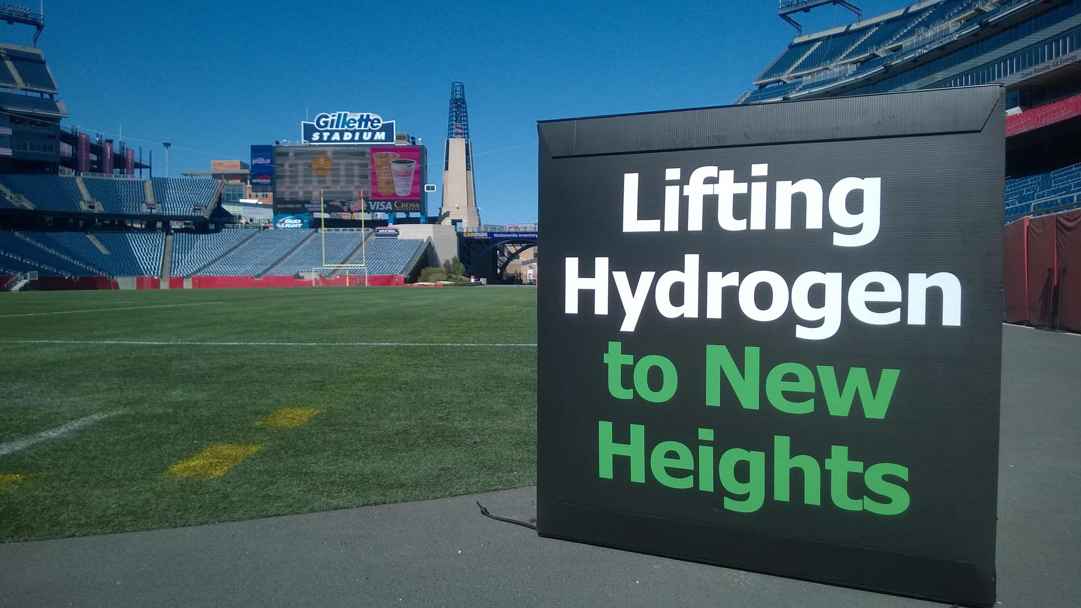 Nuvera to be at Gillette Stadium with All-In Fuel Cell Solutions
