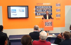 """Hydrogen-Ready?"" It is a Key Question at Hannover Messe 2014"